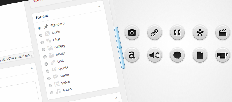 通过自定义模板,为你的WordPress主题添加文章格式